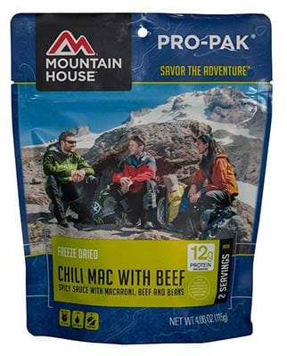 Mountain House Chilli Mac with Beef