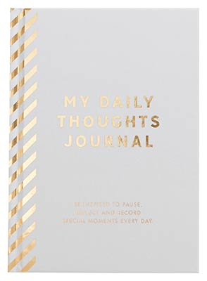 My Daily Thoughts Journal: Inspiration