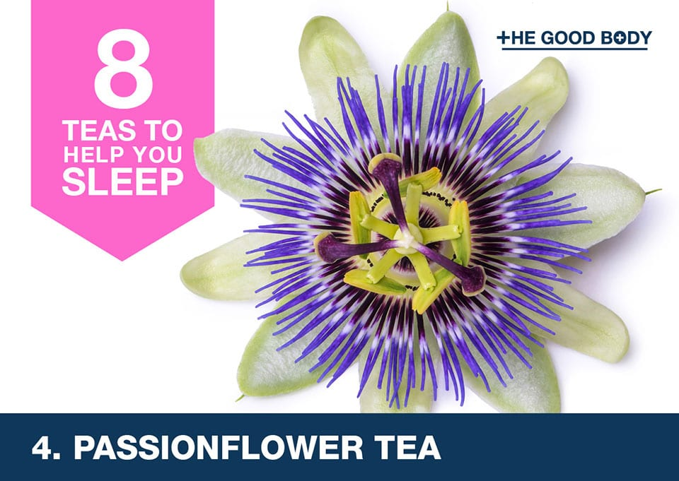 Passionflower tea to help you sleep