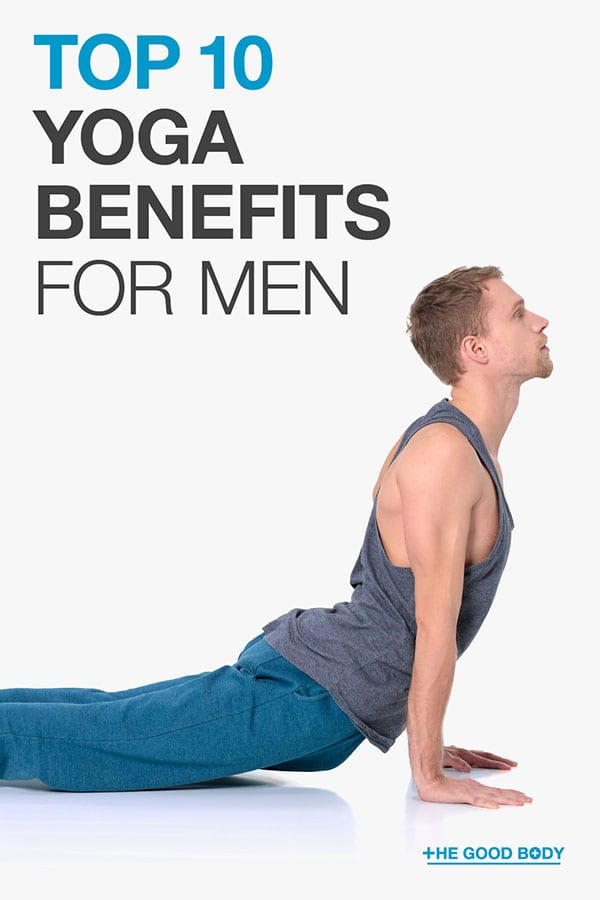Yoga Benefits for Men – Pin it