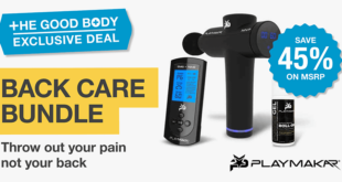 PlayMakar Back Care Bundle – Exclusive to The Good Body – 45% off MSRP