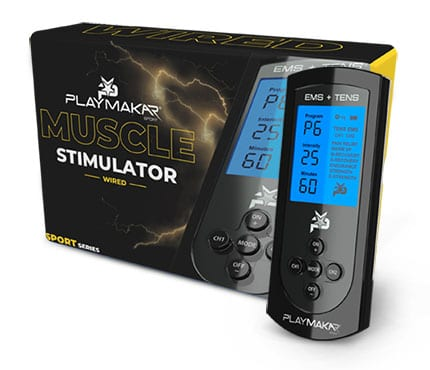 PlayMakar SPORT Electrical Muscle Stimulator and Pulse Massager