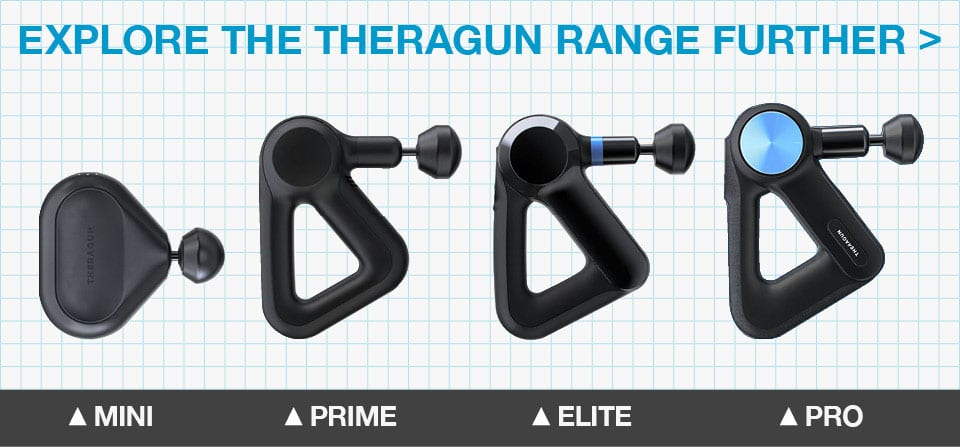 Theragun 4th Generation range of massage guns