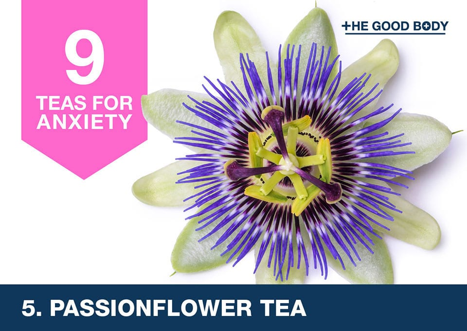 Passionflower tea for anxiety