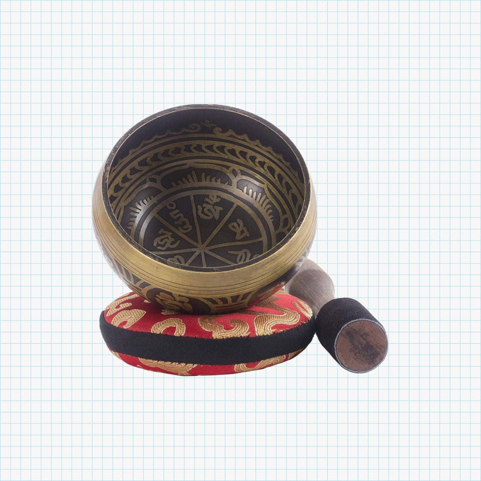 Silent Mind - Tibetan Singing Bowl Set