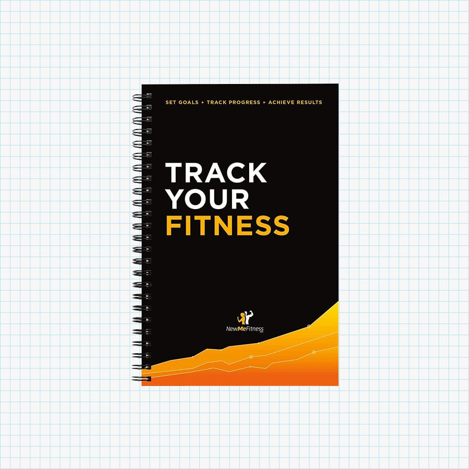 Track Your Fitness Journal from NewMe Fitness