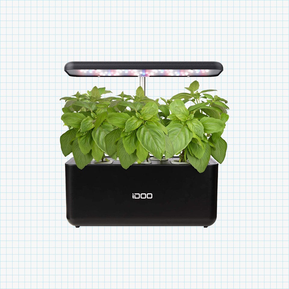 iDOO Hydroponics Growing System, Indoor Herb Garden