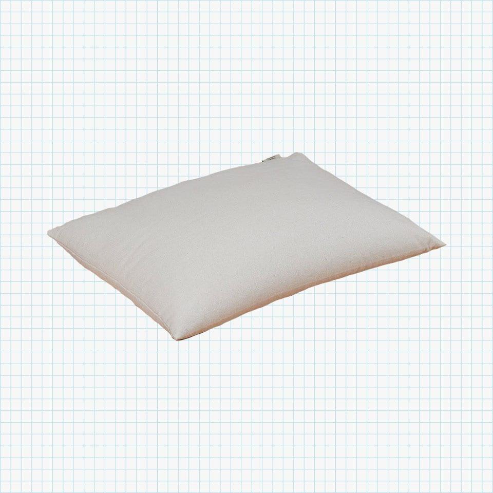ComfySleep Rectangular Buckwheat Hull Pillow