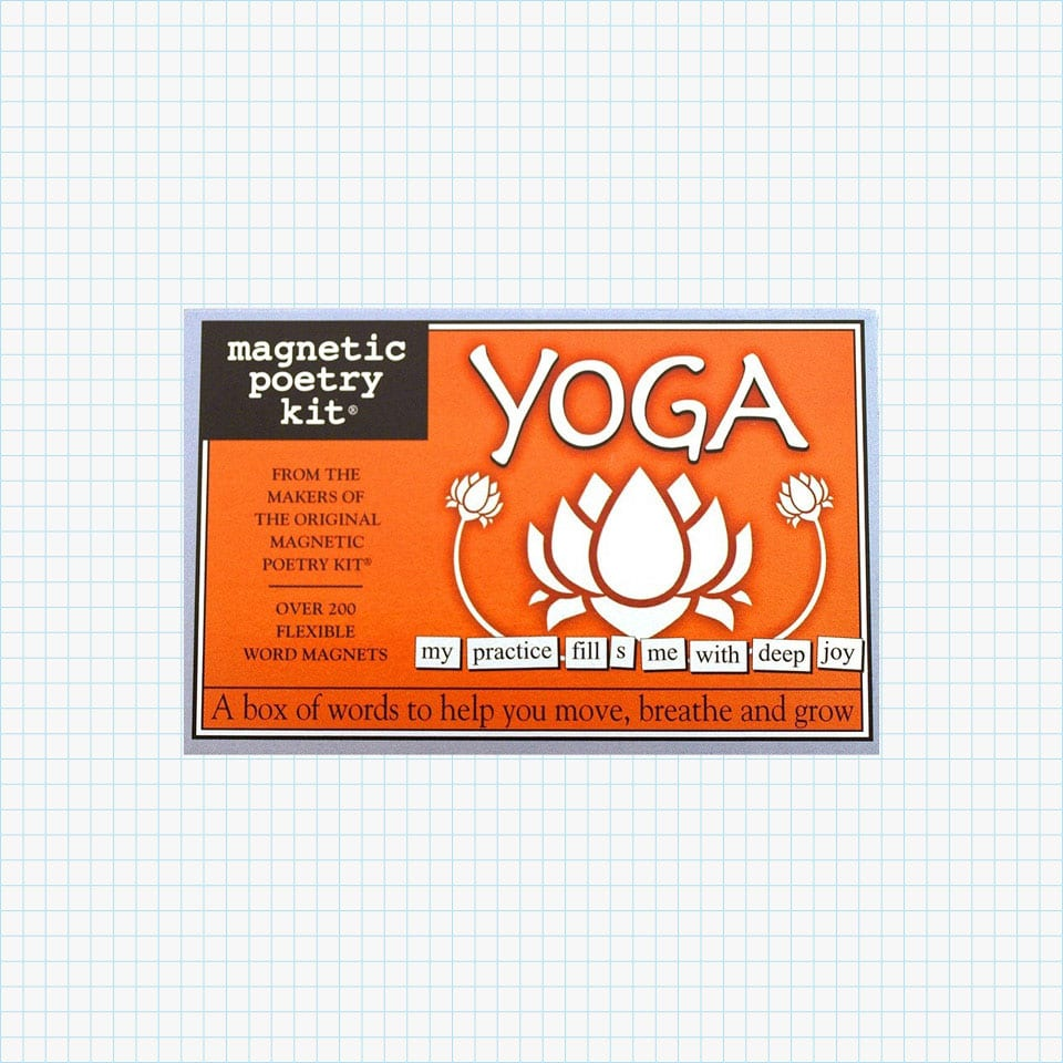 Magnetic Poetry Yoga Kit