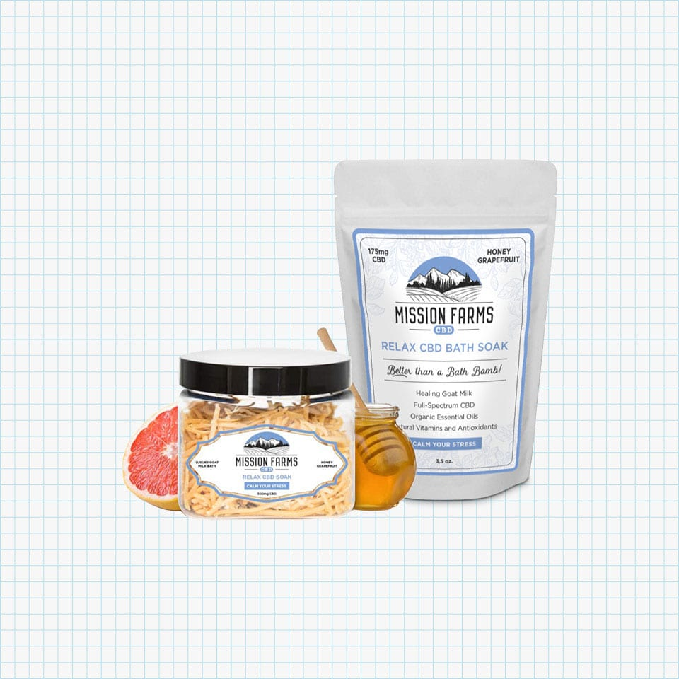 Mission Farms Relax CBD Bath Soak