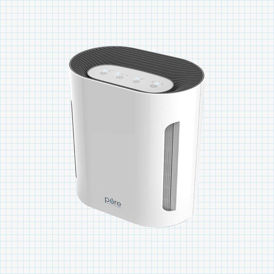PureZone 3-in-1 True HEPA Air Purifier