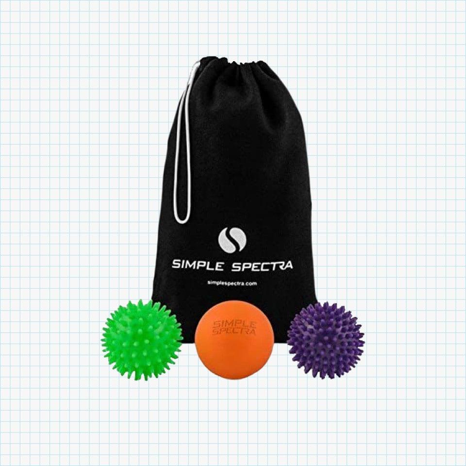 Simple Spectra Massage Ball Roller Set