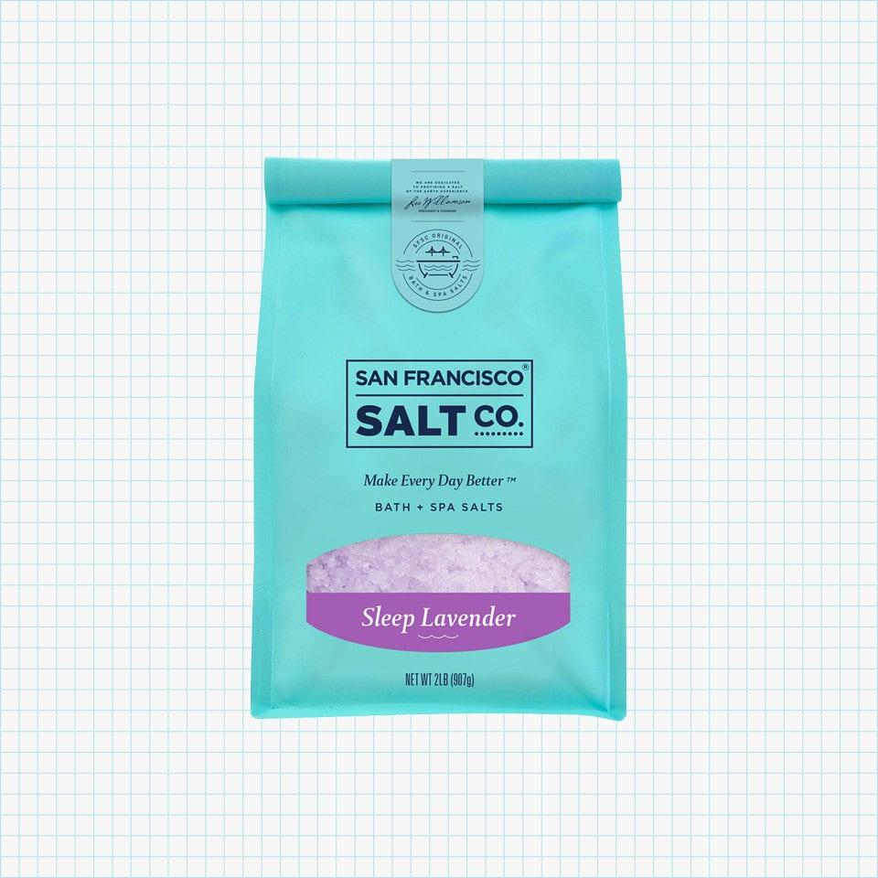 Sleep Lavender Bath Salts from San Francisco Salt Company