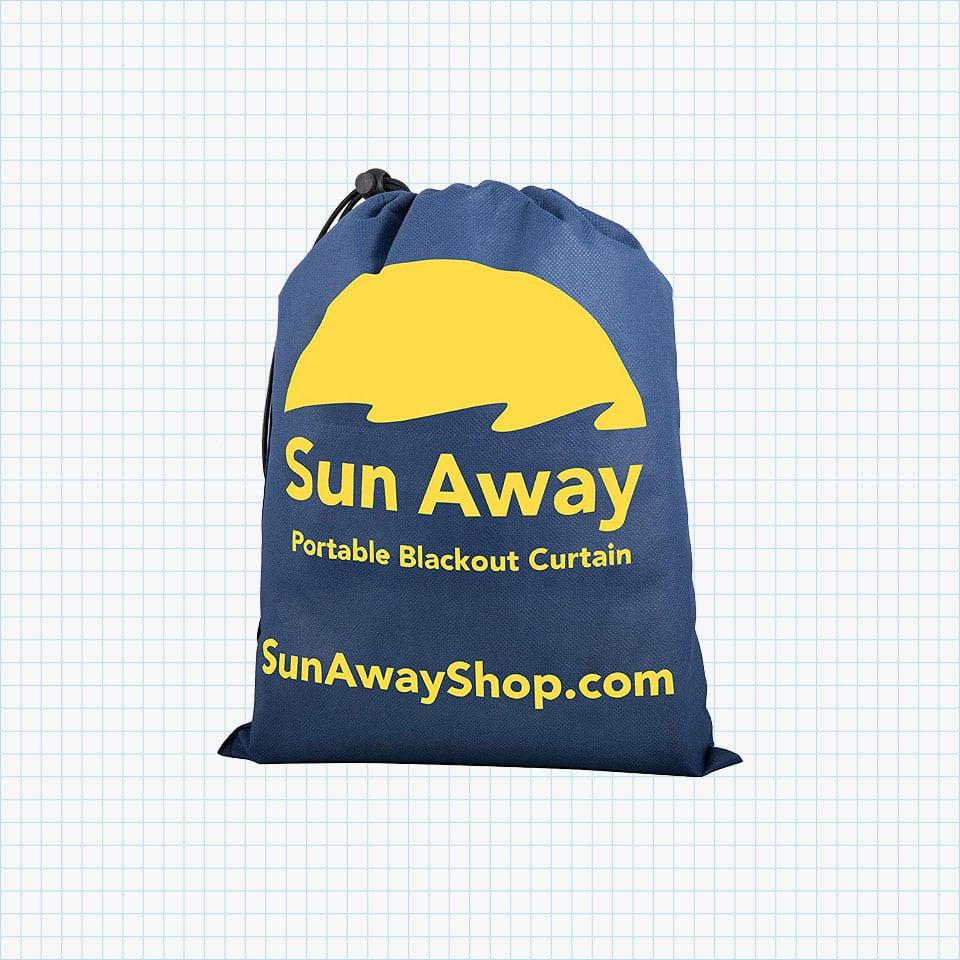 Sun Away Portable Blackout Window Curtain