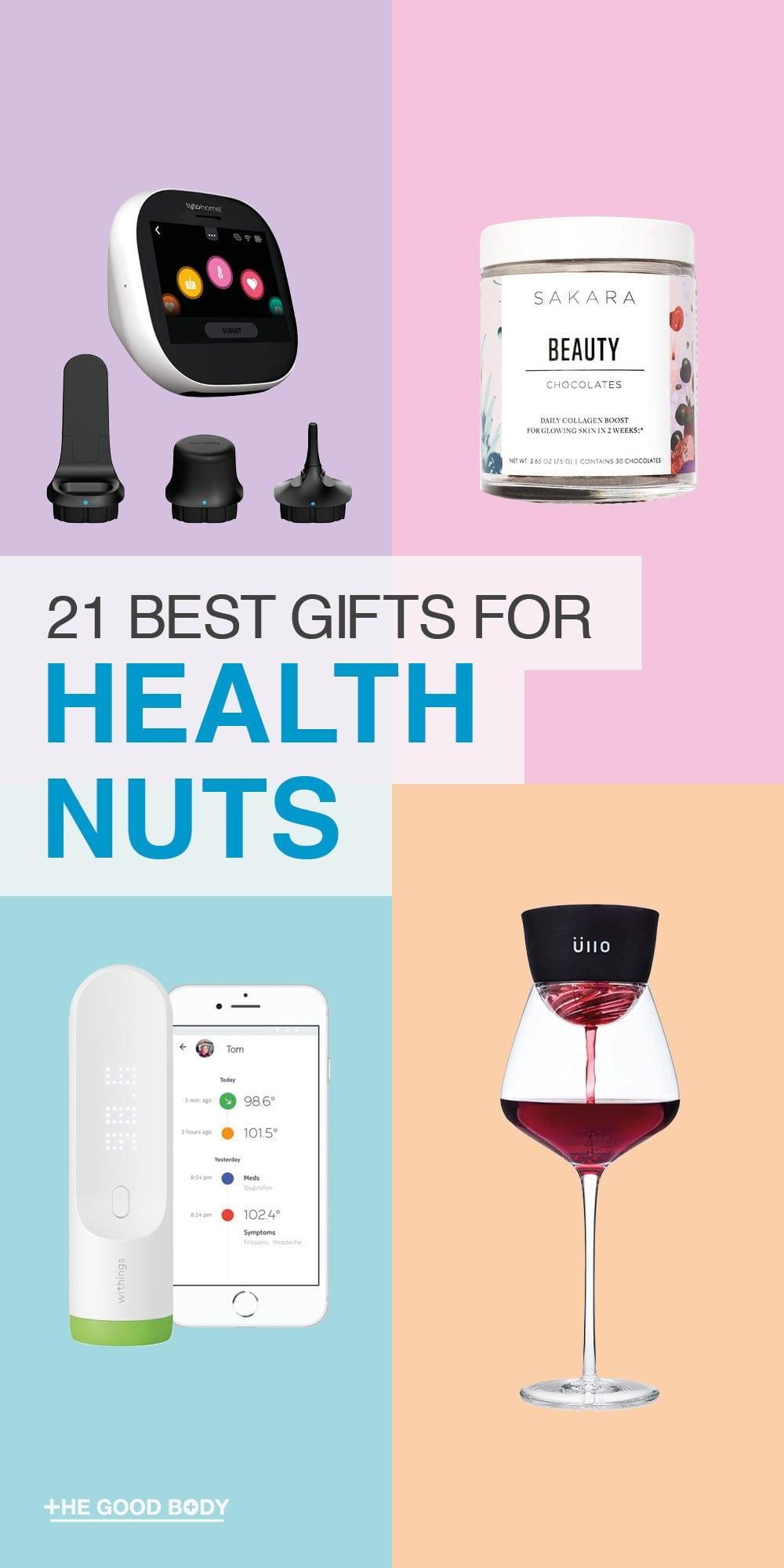 Gifts for Health Nuts – Pin it!