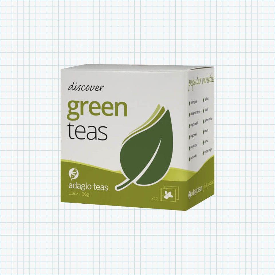 adagio teas Green Teas Portion Sampler