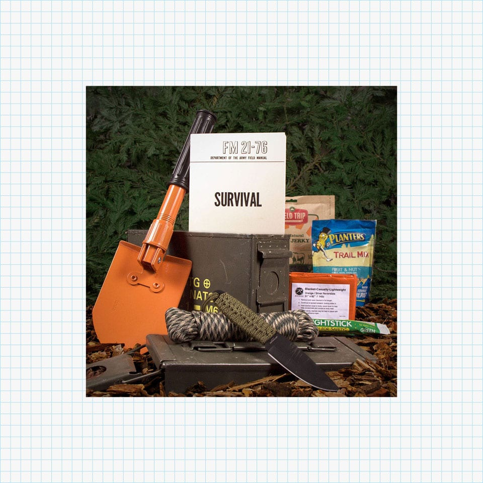 Man Crates Outdoor Survival Ammo Can