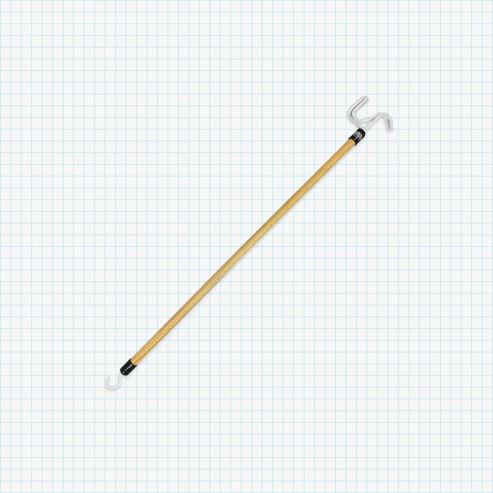 RMS Deluxe 28″ Long Dressing Stick – Dressing Aid for Shoes, Socks, Shirts and Pants