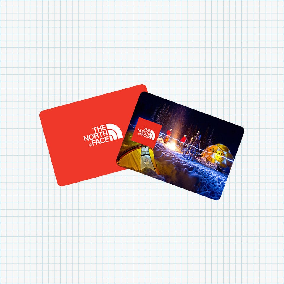 The North Face Gift Card