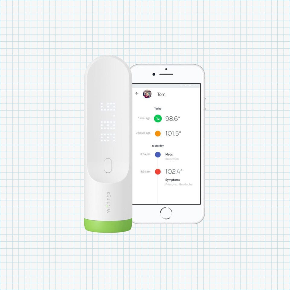 Withings Temporal Smart Thermometer