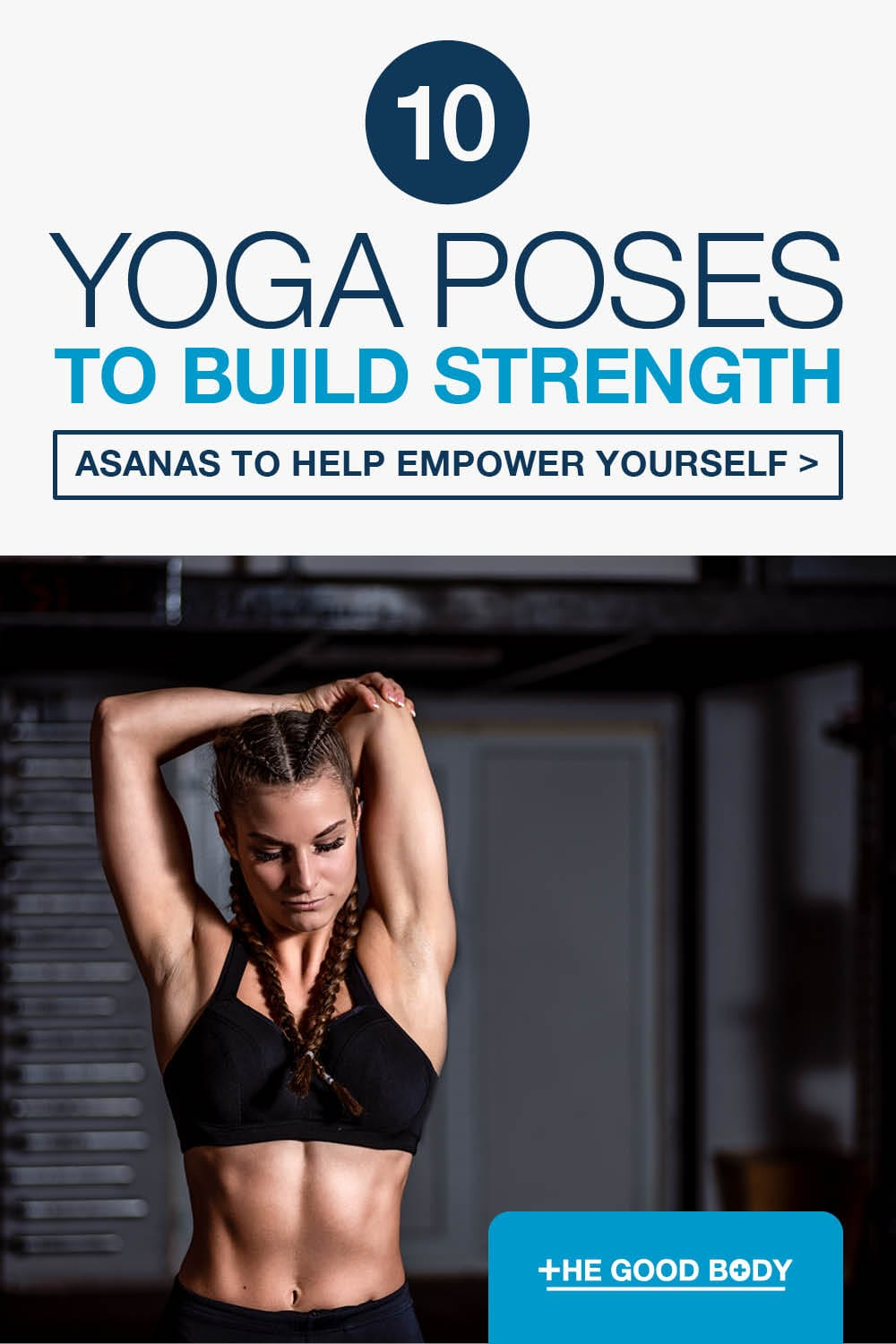 Yoga Poses for Strength – Pin It