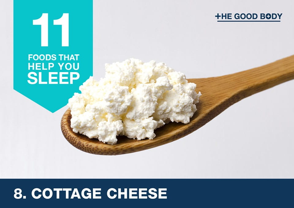 Eat cottage cheese to help you sleep