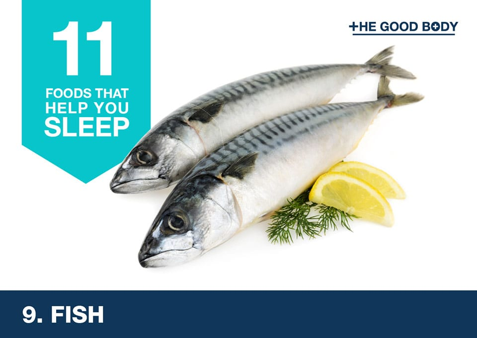 Eat fish to help you sleep