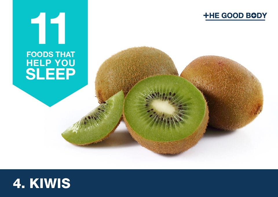 Eat kiwis to help you sleep