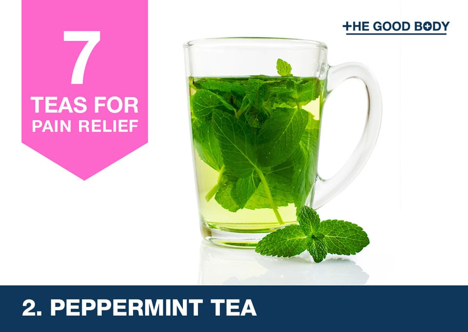Peppermint Tea for pain relief