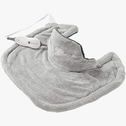 Affordable heating pad: Sunbeam Renue Contouring Neck and Shoulder Heating Pad