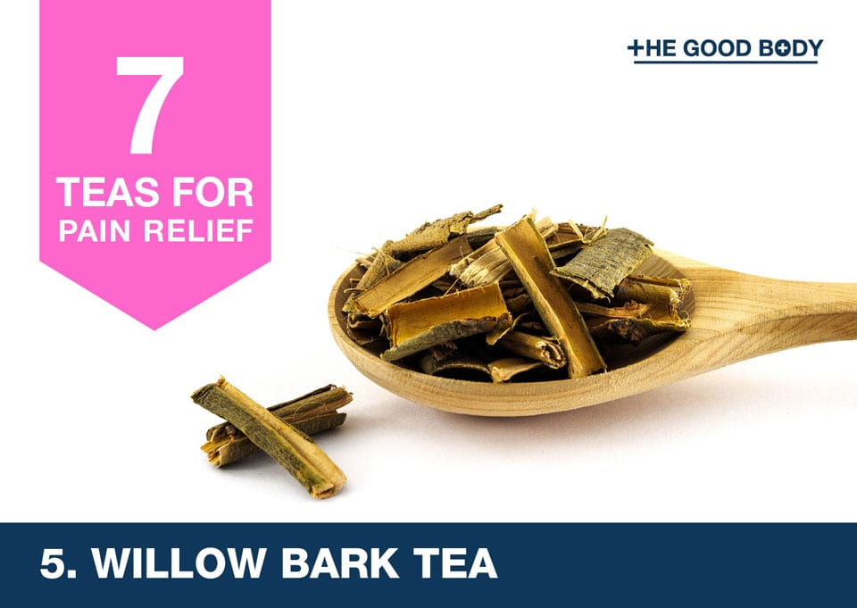 Willow Bark Tea for pain relief