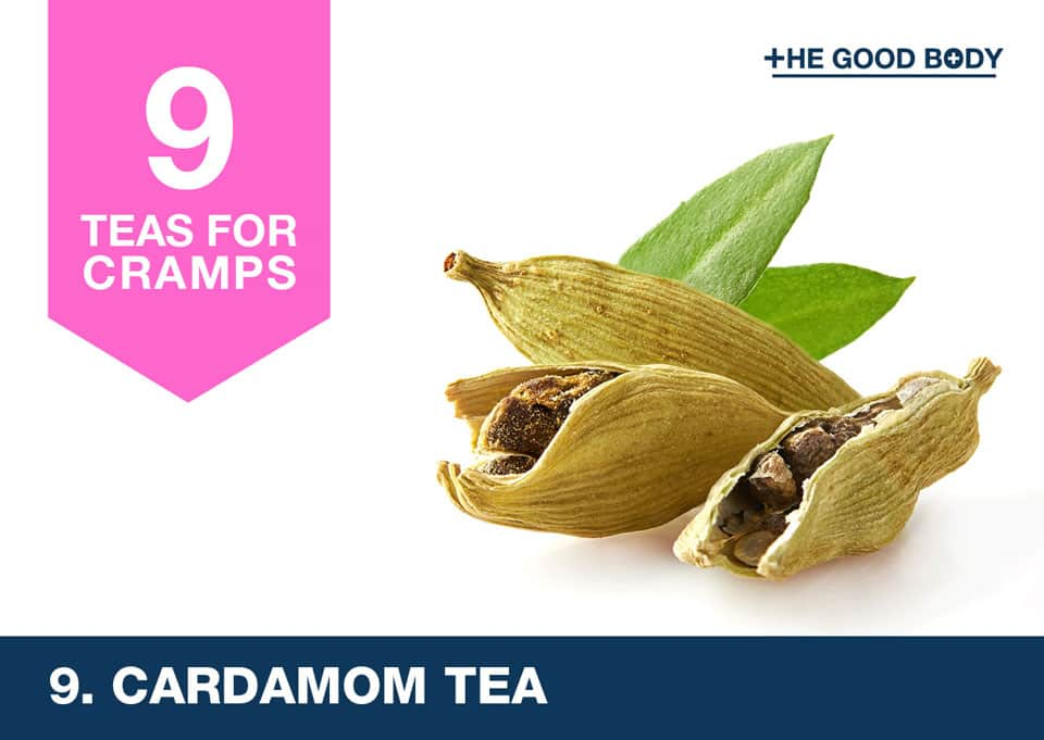 Cardamom Tea for cramps