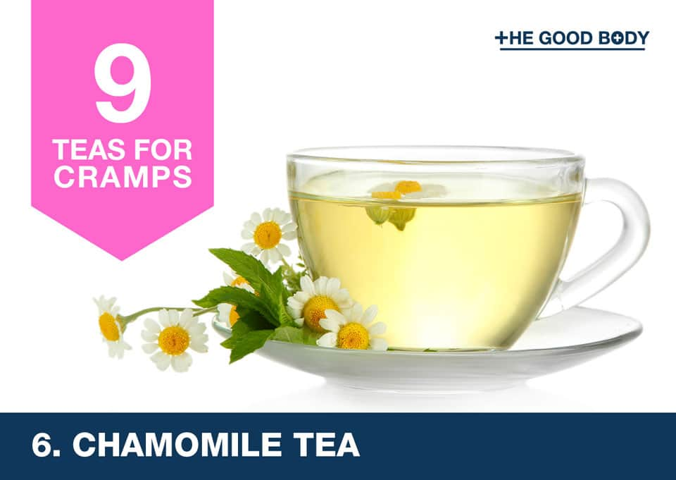 Chamomile Tea for cramps