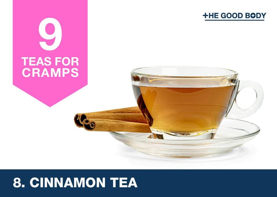 Cinnamon Tea for cramps