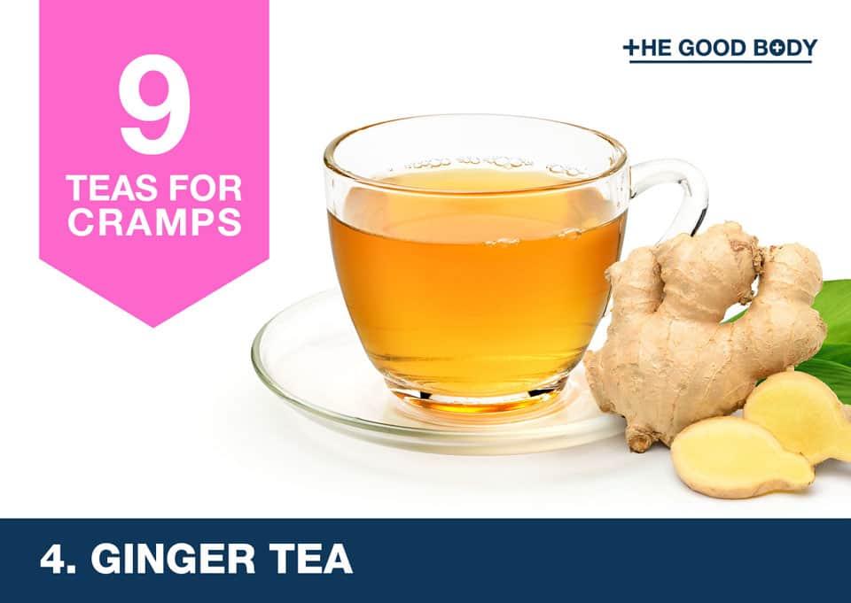 Ginger Tea for cramps