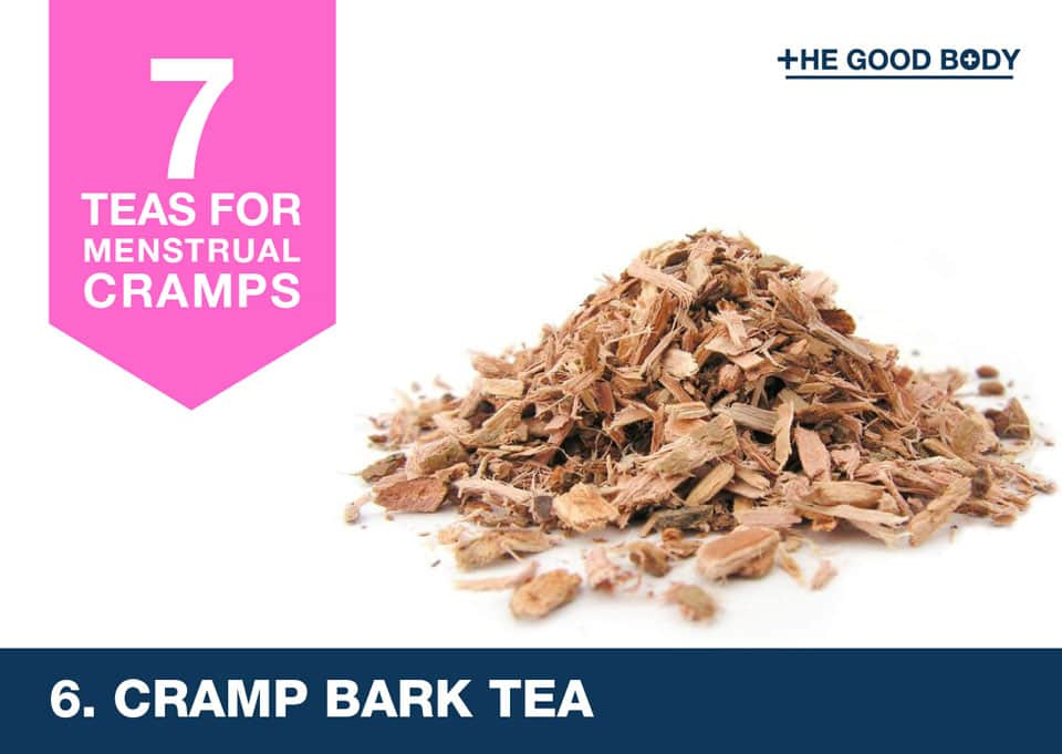 Cramp Bark Tea for menstrual cramps