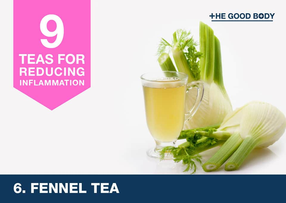 Fennel Tea for inflammation