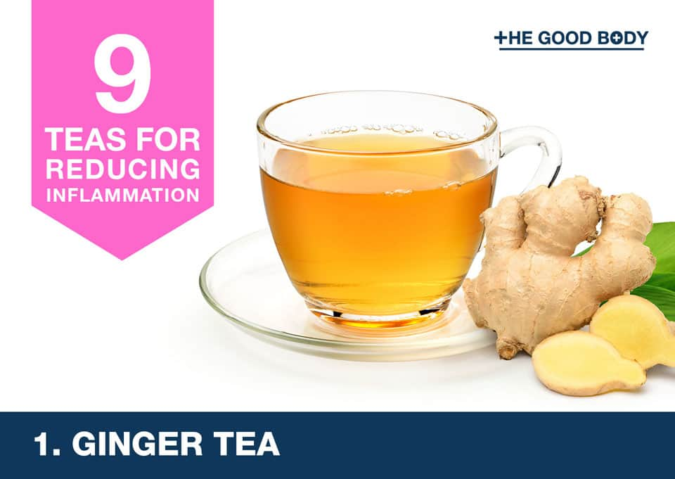 Giner Tea for inflammation