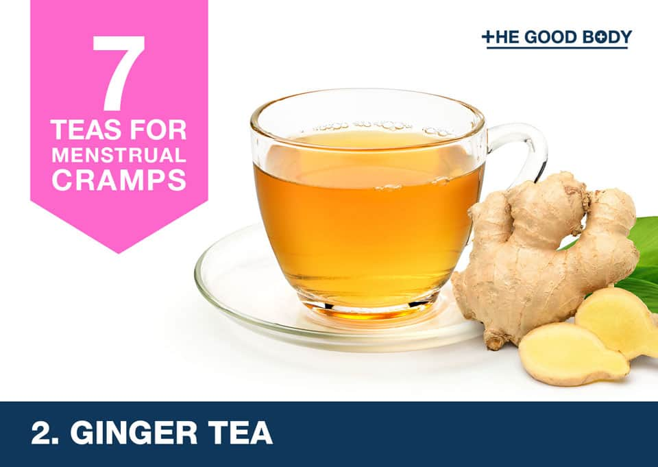 Ginger Tea for menstrual cramps