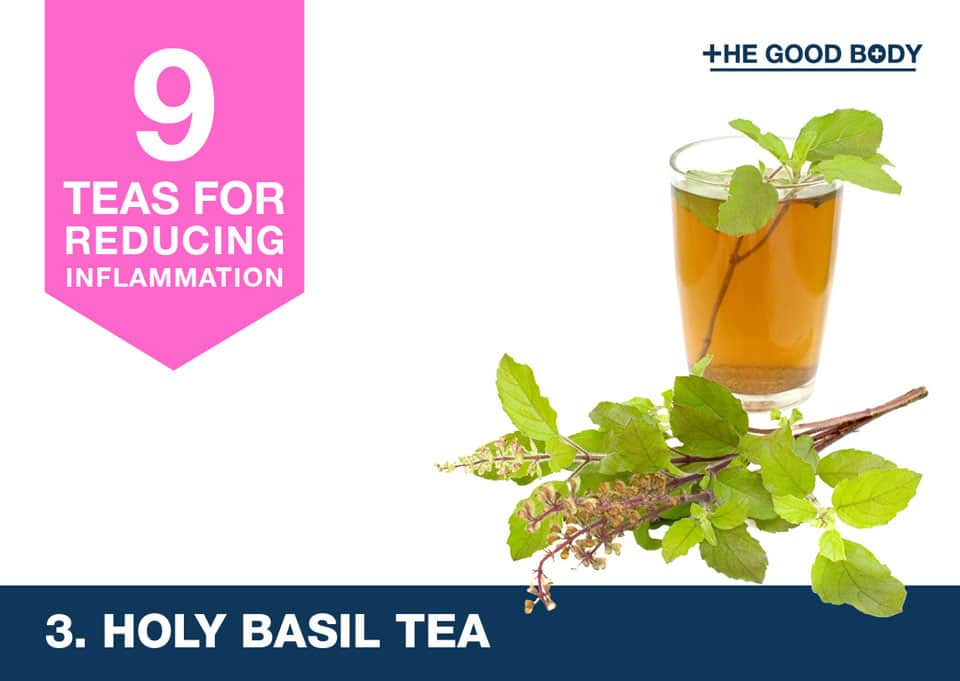 Holy Basil Tea for inflammation