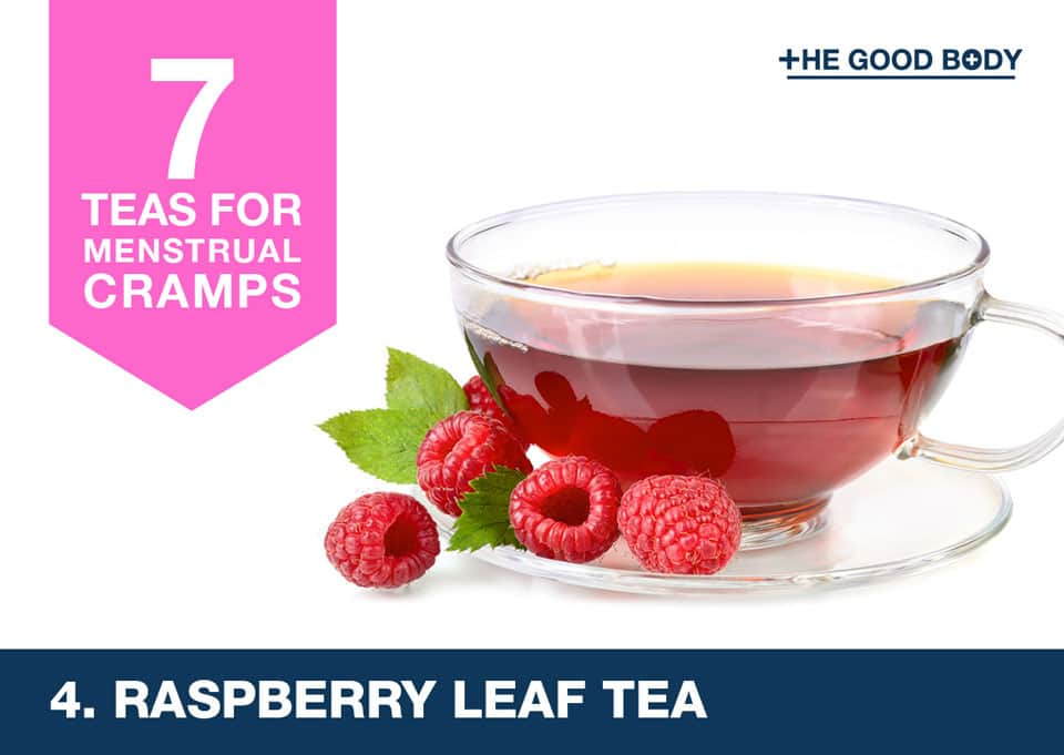 Raspberry Leaf Tea for menstrual cramps