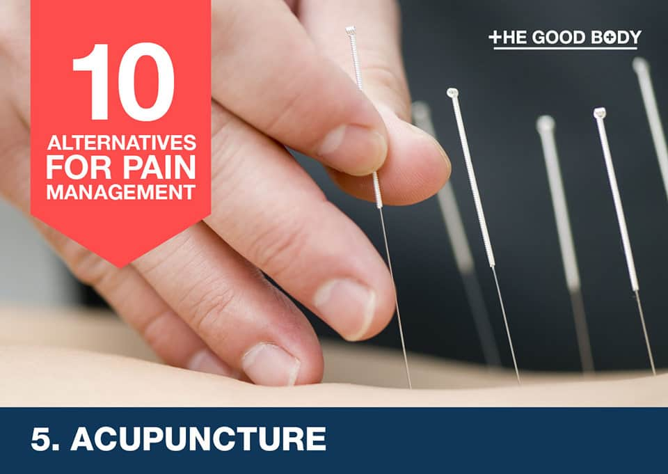 Acupuncture – an alternative for pain management