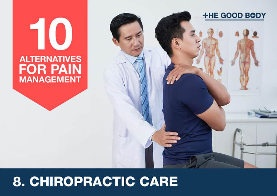 Chiropractic care – an alternative for pain management