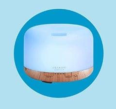 The Best Stress Relief Gift: Asakuki Essential Oil Diffuser