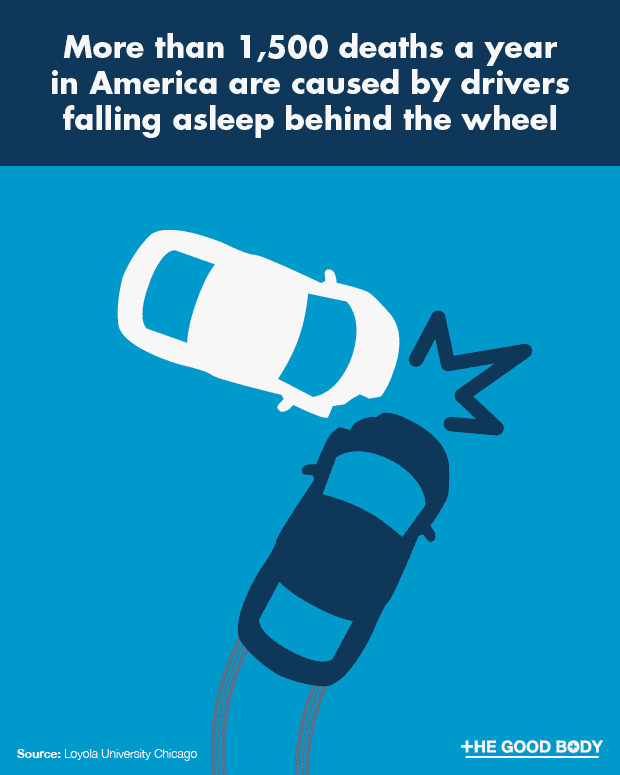 More than 1,500 deaths a year in America are caused by drivers falling asleep behind the wheel