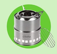 The Best Gift for Outdoorsmen: Ohuhu Stainless Steel Camping Stove