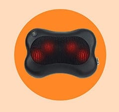 The Best Gift For People With Back Pain: Zyllion Shiatsu Back and Neck Massager Cushion