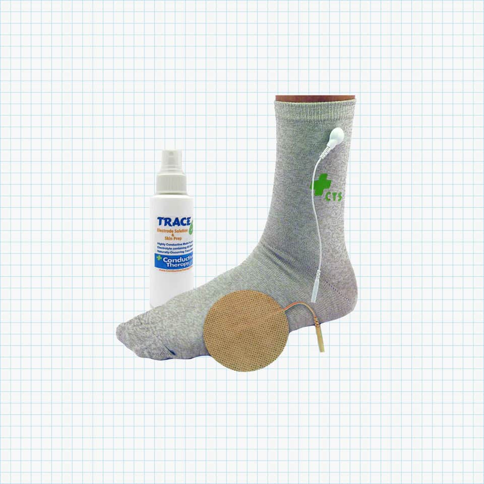 Premium Conductive Socks from the Conductive Therapy Shop