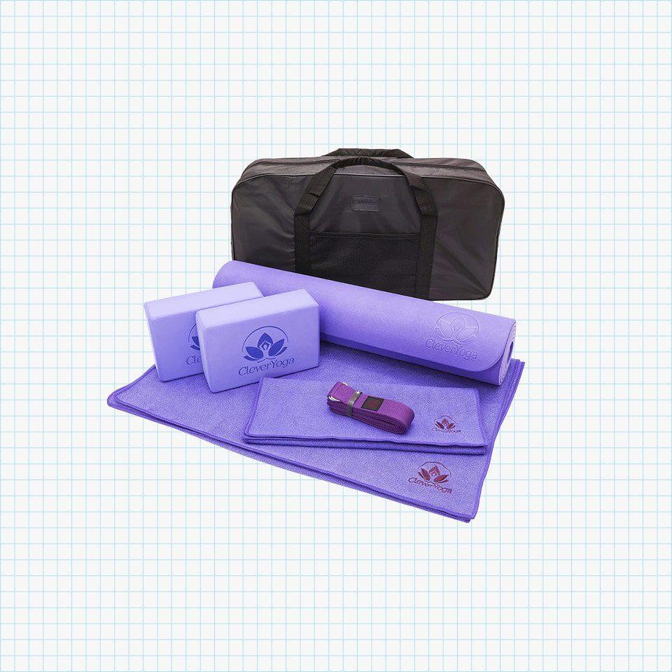 Clever Yoga Set - 7-Piece Yoga Kit
