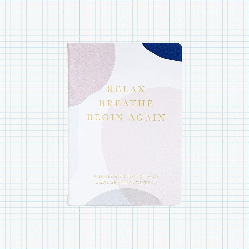 Eccolo Relax, Breathe, Begin Again Mindfulness Journal